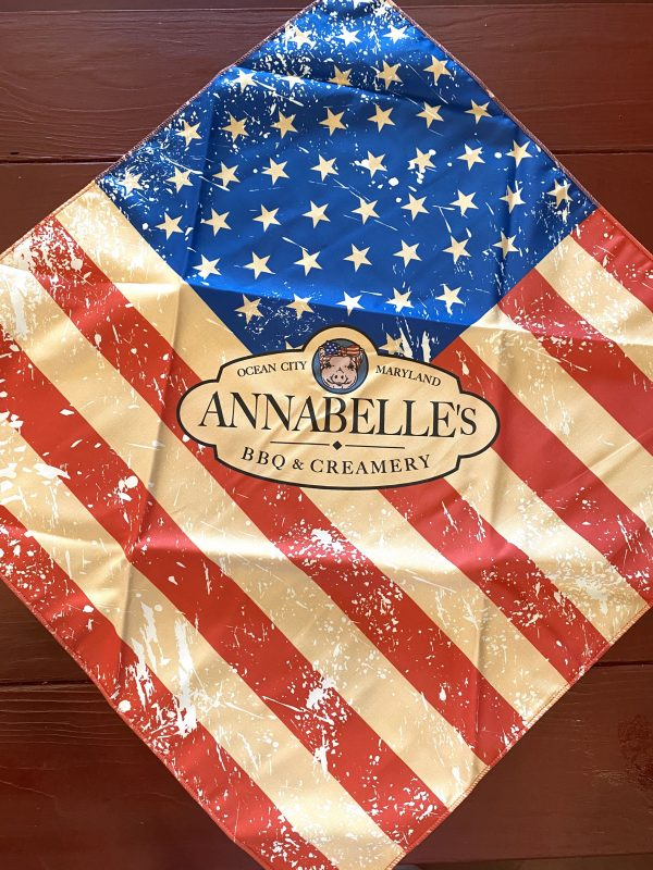 Distressed Flag Bandana Min